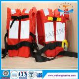 Le rouge réglable CCS SOLAS a reconnu le gilet marin de fonctionnement gilet de sauvetage de mousse de PVC de trois parties
