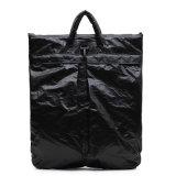 Портфель черных водоустойчивых светлых мягких людей Du Pont бумажных (DP003)