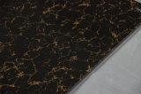 Negro doble del cargamento y azulejo Polished de la porcelana de Pulati del oro para el suelo