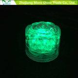 卸し売り水センサーイベント党結婚式のための点滅LEDの氷のローズの立方体の白熱飲用に適した装飾