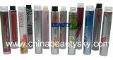 Kosmetik-verpackenhaar-Sorgfalt-Farben-Sahne-leere zusammenklappbare Aluminiumgefäße