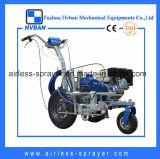 Potente máquina de alineación de calle de gasolina con bomba de pistón