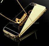 Оптовая продажа iPhone 6 аргументы за металла цвета золота, iPhone 6 аргументы за зеркала сотового телефона, в случай зеркала iPhone 6