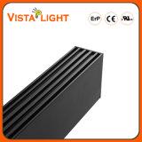 기관 건물을%s 알루미늄 밀어남 45W 펜던트 LED 선형 빛