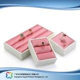 Caisse d'emballage de luxe en bois/de papier étalage pour le cadeau de bijou de montre (xc-dB-013D)