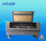 Dubbel-hoofd Automatische het Voeden van de Stof Laser Scherpe Machine