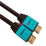 alta velocidade 1.4V com Etnernet, 3D, 4k, cabo de 2160p HDMI