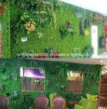 Искусственний Greenery засаживает вертикальную стену сада травы