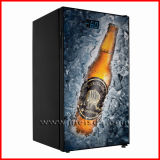 refrigerador de cristal vertical del refrigerador de la cerveza de la puerta 98L