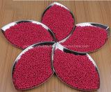 Hoher Grad-Farbe Winkel- des Leistungshebelsplastik beizt Masterbatch, rote Farbe Masterbatches