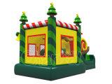 Árvore de Natal engraçada Castelo inflável para jogos de salto