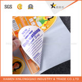 Стикер ярлыка печатание нестандартной конструкции высокого качества для мешка конфеты
