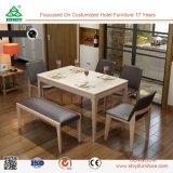 Дружественность к окружающей среде столовая мебель изготовлена в Китае, деревянные кожаный стул обеденный зал, мебель
