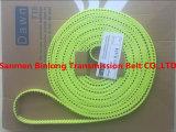 Tt5 Type Flex les courroies avec cordons Kevlar/Jaune/Bleu profond