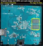 Faisceau fait sur commande T95-2GB/8GB de quarte du cadre S905X de l'androïde TV