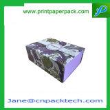 Cadre de empaquetage enduit fait sur commande de livre de papier
