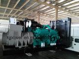 1125kVA CumminsのStamfordの交流発電機が付いているディーゼル発電機セット