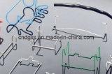 8 dobladora del alambre automático del CNC 3D de las hachas
