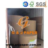 papier 50-120GSM excentré double face blanc dans la bobine enorme