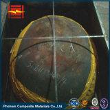Monel N04400 plattierter Ellipsoidal Kopf des Stahl-P295gh