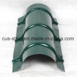 De metal color teja/colorido Zincalume Hoja de impermeabilización de cubiertas de acero