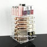 6 выдвижной ящик акриловый макияж организаторов оптовой заводской сборки