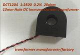 DCT120A 1: 2500 el 0,2% de 13 mm Agujero 20ohm DC inmune transformador de corriente
