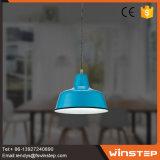 Única luz de suspensão azul brandnew do pendente 220-240V