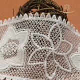 Cotone all'ingrosso dei pannelli esterni delle donne e merletto francese di nylon