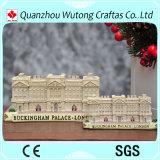 Recuerdo material personalizado aduana hecha a mano del Buckingham Palace de la resina