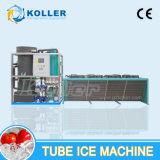 máquina de hacer hielo del cilindro de la depresión de la capacidad grande 5000kgs
