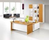 Tabella di legno dell'ufficio esecutivo della mobilia della melammina della quercia bianca (HX-GD008)