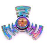 Het lange Metaal van de Legering van het Zink van het Aluminium van de Rotatie friemelt Spinner, de Spinner van de Hand van de Legering van het Nieuwe Product van 2017