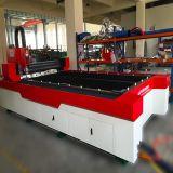 Macchina per incidere di taglio del laser della fibra della lamiera piana del metallo di CNC