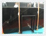Lastra di marmo nera di Nero Marquina per le mattonelle commerciali della costruzione