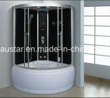 sauna del vapore del settore di 1150mm con la Jacuzzi e l'acquazzone (AT-G0906)