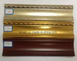 Cornisa de la pared de PVC de espuma de alta calidad de moldeo de techo
