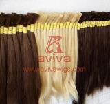 Massa dei capelli umani di Remy della cuticola