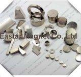 De Magneten van het Neodymium van de Zeldzame aarde van het Plateren van het nikkel N35-N52