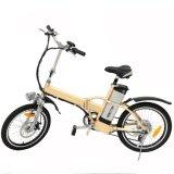 36V 250W En15194 Aprroved que dobra a bicicleta elétrica com a bicicleta da bateria de lítio