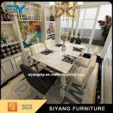 ステンレス鋼の家具のダイニングテーブルの一定正方形の食卓
