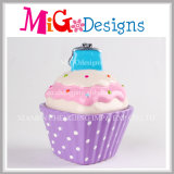 Caixa de cerâmica de cerâmica Exquisite Cupcake Money Bank