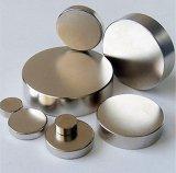 Schijf van de Magneten van de Zeldzame aarde van NdFeB N40 de Materiële Permanente Neo