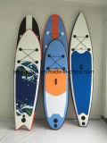 Soporte inflable Tarjeta de paleta / tablero de resaca de PVC / Stand up Paddle Board