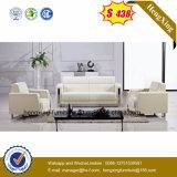 Mejor venta de sala de estar moderna 1 + 2 + 3 sofá de cuero (HX-CS059)