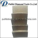 Segment van het Graniet van de Hulpmiddelen van de Steen van de diamant het Scherpe voor het Blad van de Cirkelzaag