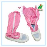 Ботинок/Overboot сетки PVC ESD для работника в мастерской