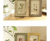 Pagina di legno solido blocco per grafici della foto da 7 pollici