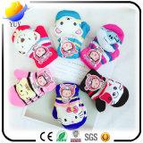 Soft and Lovely Waterproof Children Gants en coton et en cuir et gants en laine et avec des gants en velours à l'intérieur des cadeaux promotionnels