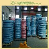 Le fil d'acier tressé a renforcé le boyau hydraulique couvert par caoutchouc (SAE100 R2-1-1/4)